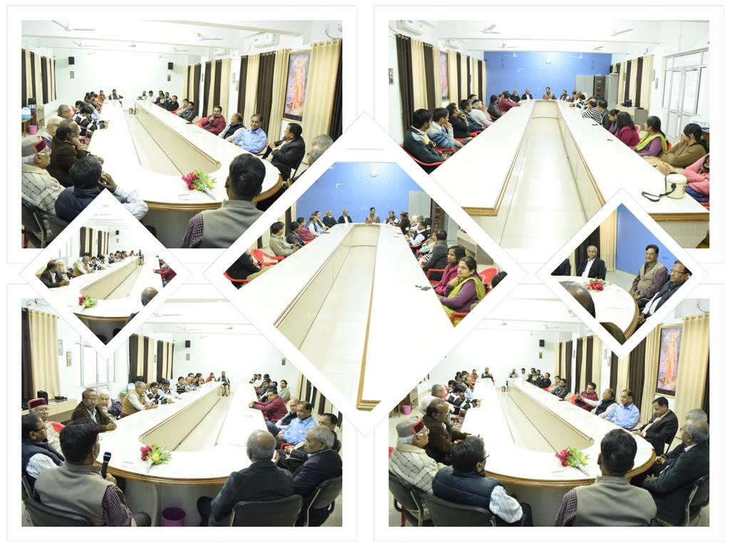conference hall collage AKS University